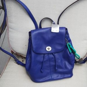 Coach Park Leather Backpack